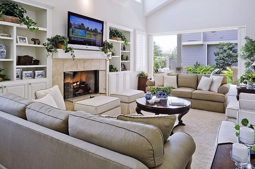 101 contemporary living room design tips for the ultimate room for Living room seats designs
