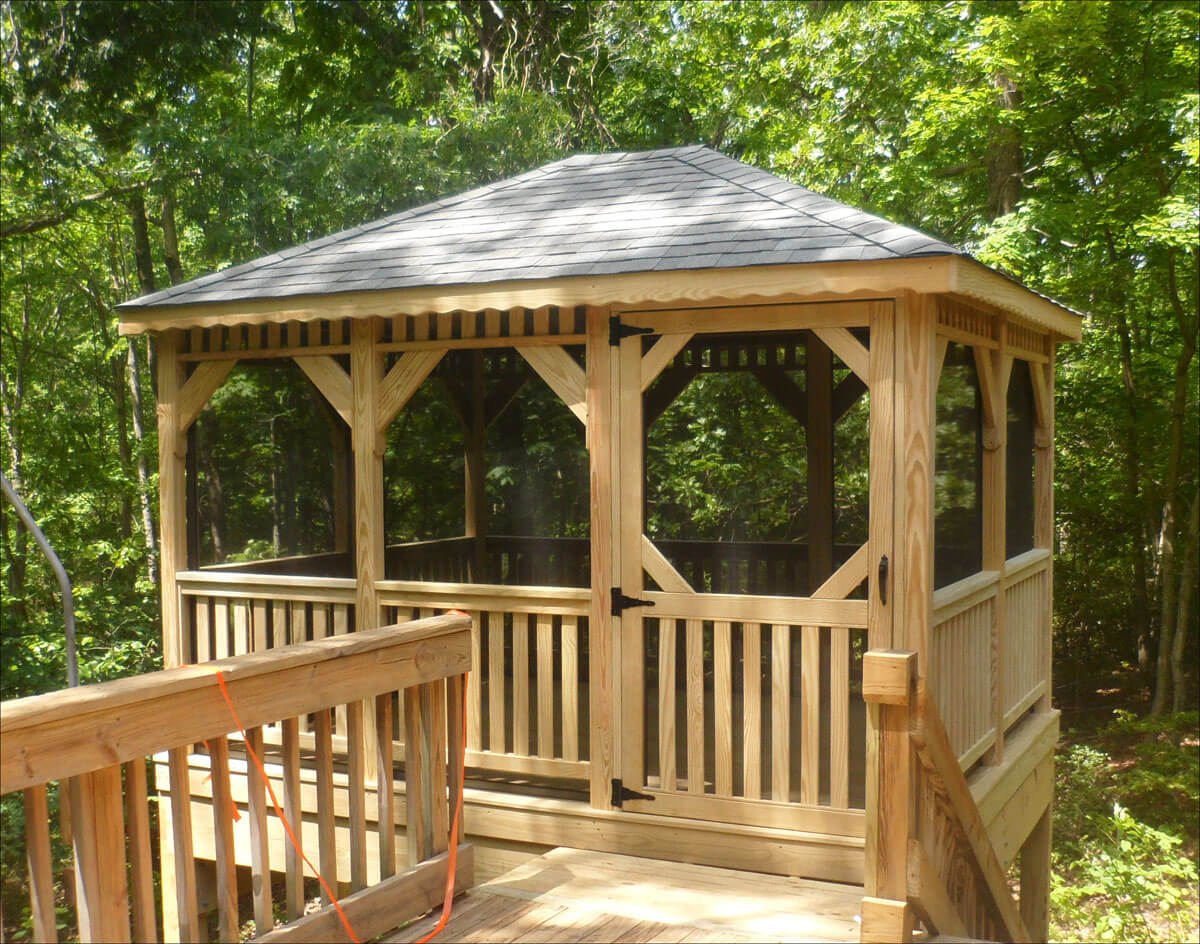 Tree House Style Gazebo