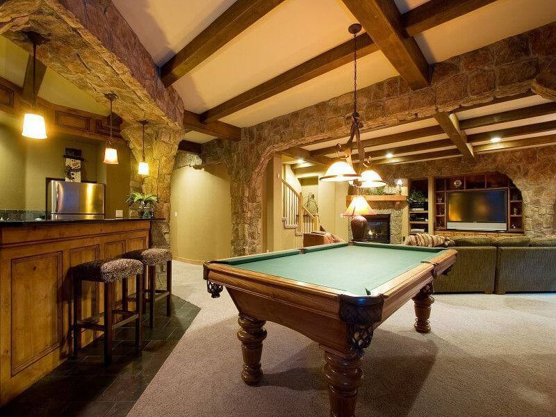 63 Finished Basement Quot Man Cave Quot Designs Awesome Pictures