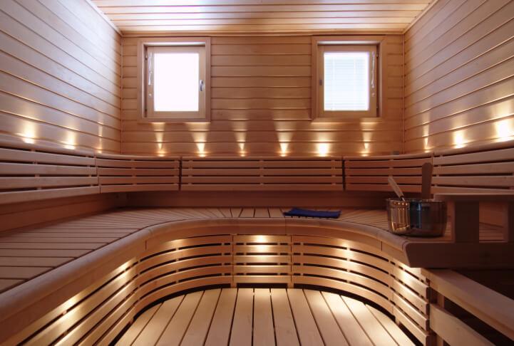 u curve sauna bench design - Sauna Design Ideas