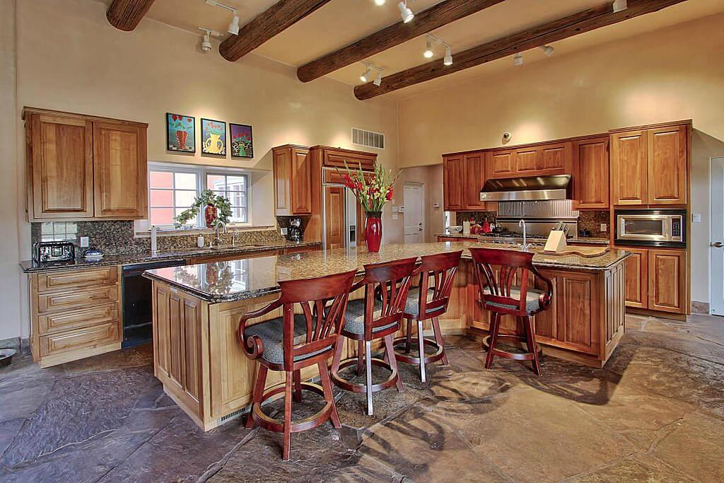 L Shaped Kitchens With Island 64 deluxe custom kitchen island designs (beautiful)