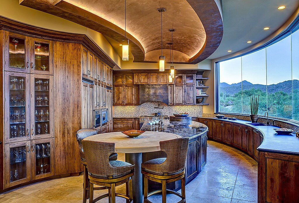 64 deluxe custom kitchen island designs beautiful for Southwestern kitchen designs