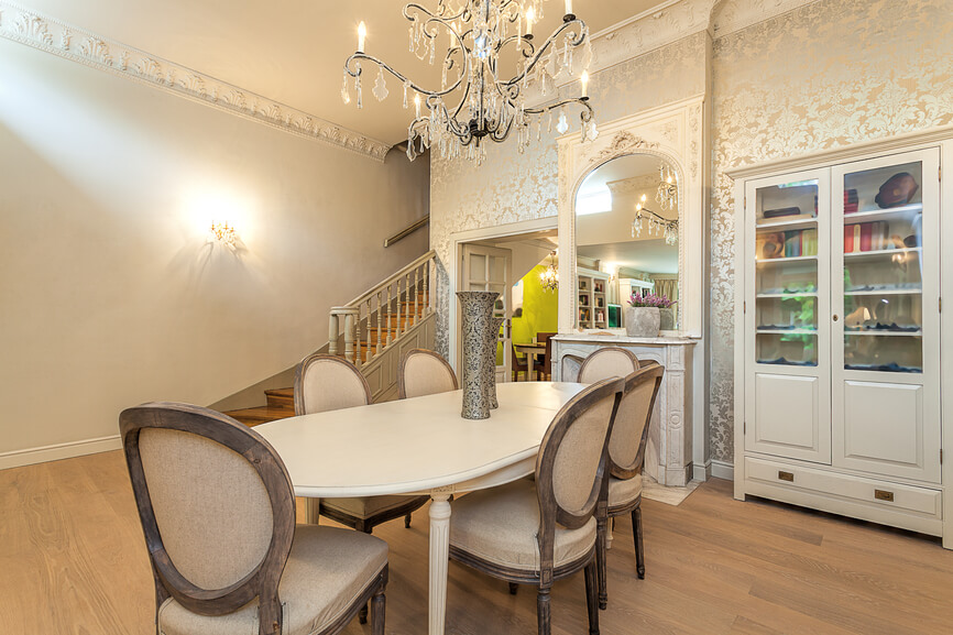 126 luxury dining rooms part 2 for Homes without dining rooms