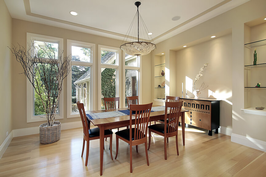 126 luxury dining rooms part 2 for Luxury home windows