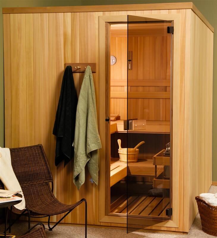 Pre Built Sauna