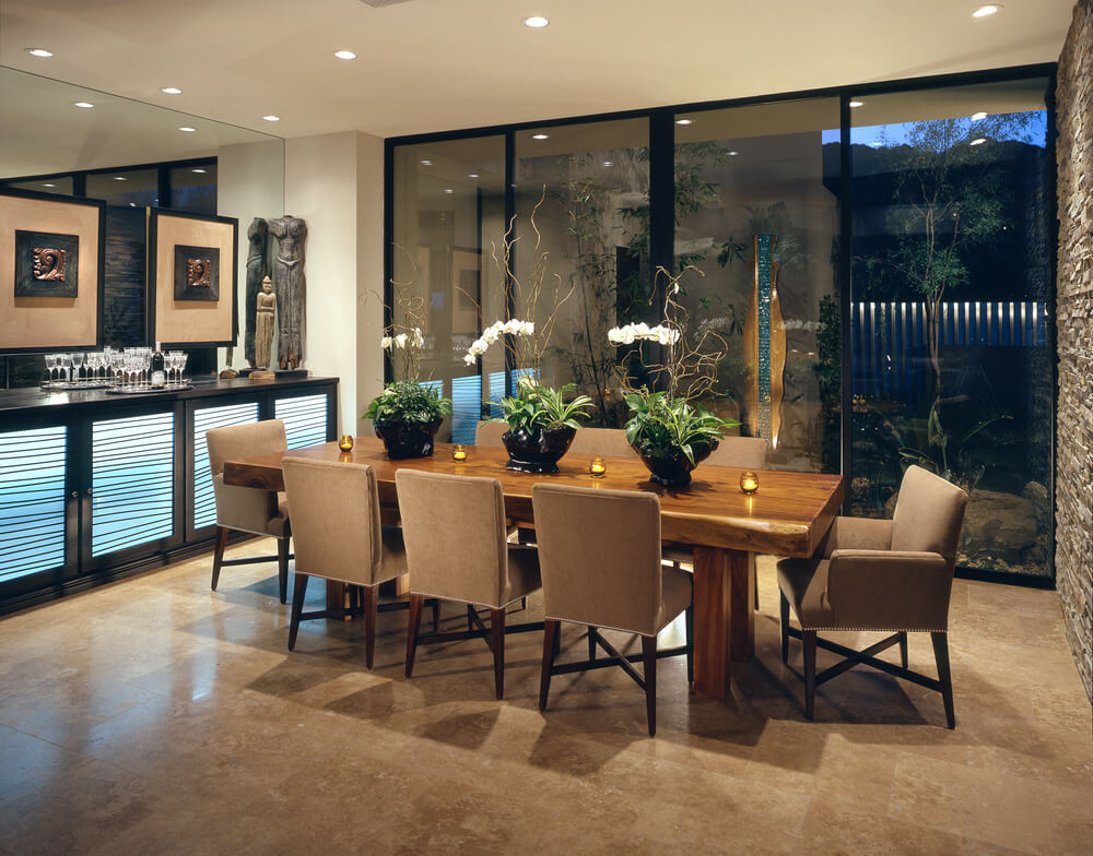 Modern House Interior Design Dining Room