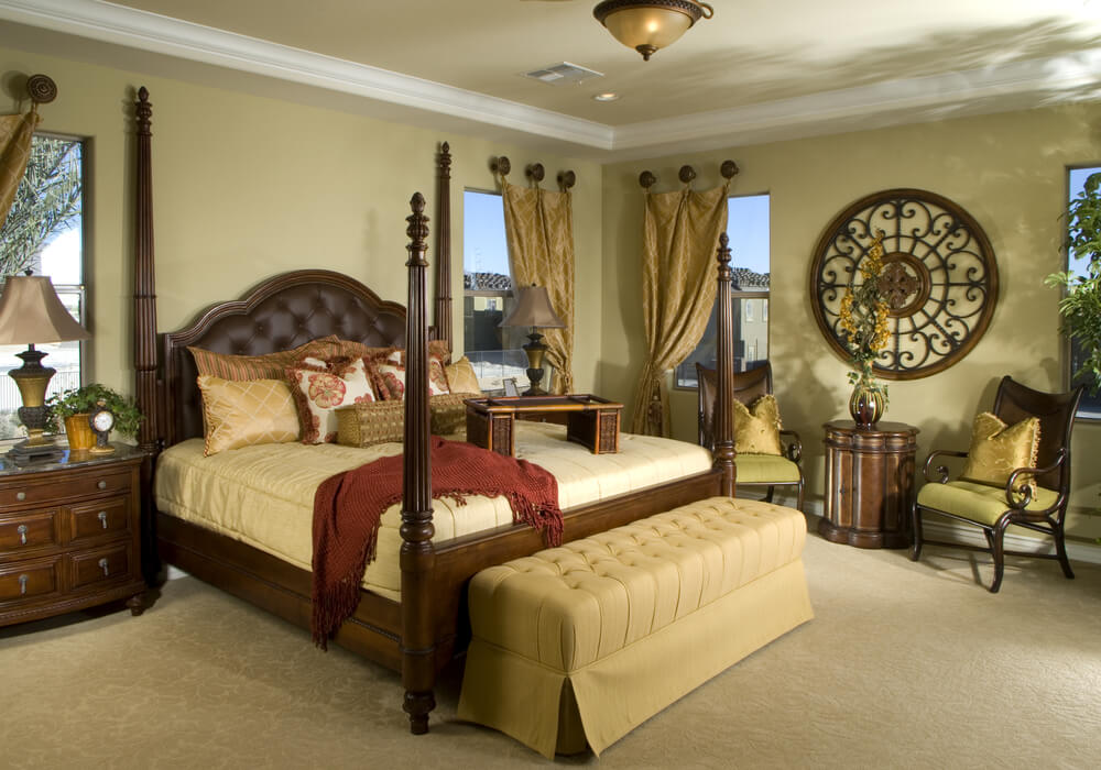 58 custom luxury master bedroom designs pictures for Four bedroom design