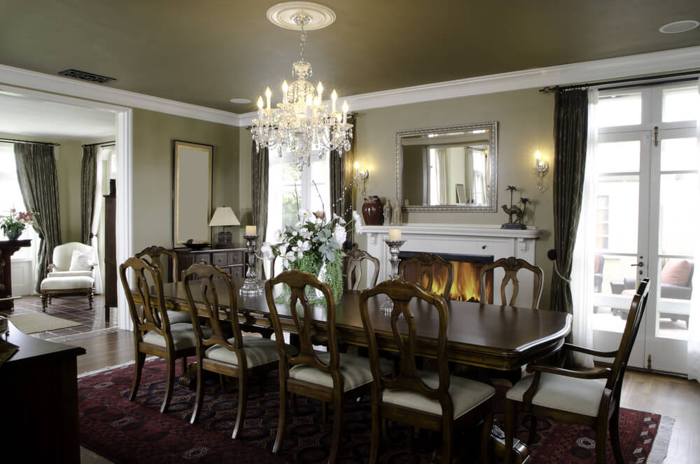 126 custom luxury dining room interior designs for Pictures of formal dining rooms
