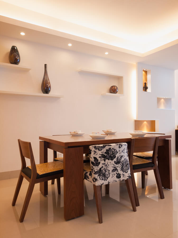 126 luxury dining rooms part 2 - Shelves for dining room ...