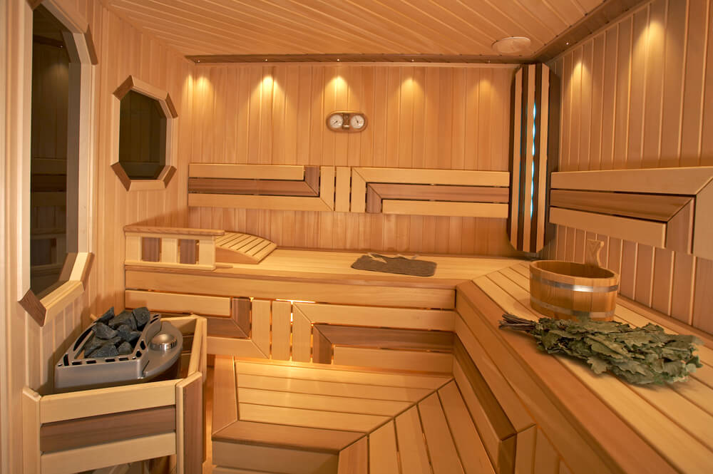 52 dry heat home sauna designs photos for Sauna design plans