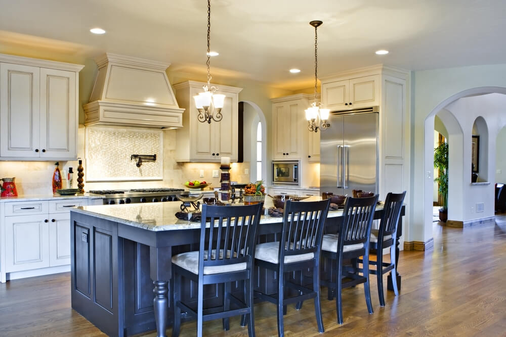 Kitchen Island With Stove And Seating 64 deluxe custom kitchen island designs (beautiful)