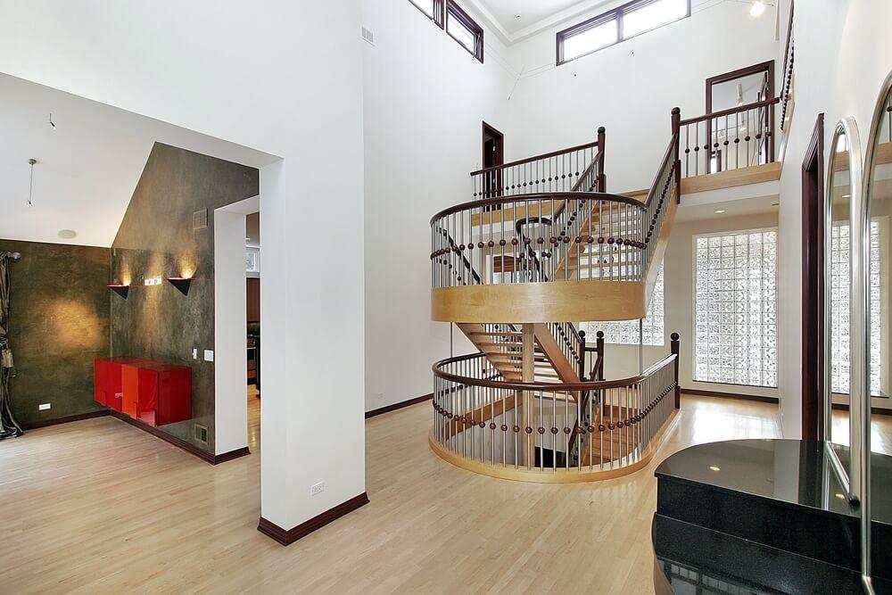 45 custom luxury foyer interior designs - Stairs to second floor design ...