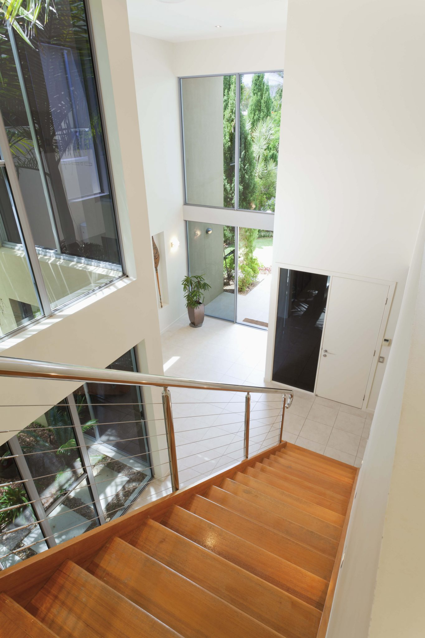 Half Wall Wood Paneling: 45 Custom Luxury Foyer Interior Designs