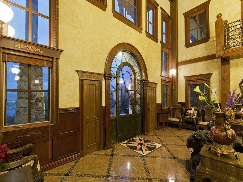 Open Foyer Windows : Custom luxury foyer interior designs