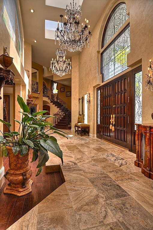 Foyer Landing Ideas : Custom luxury foyer interior designs