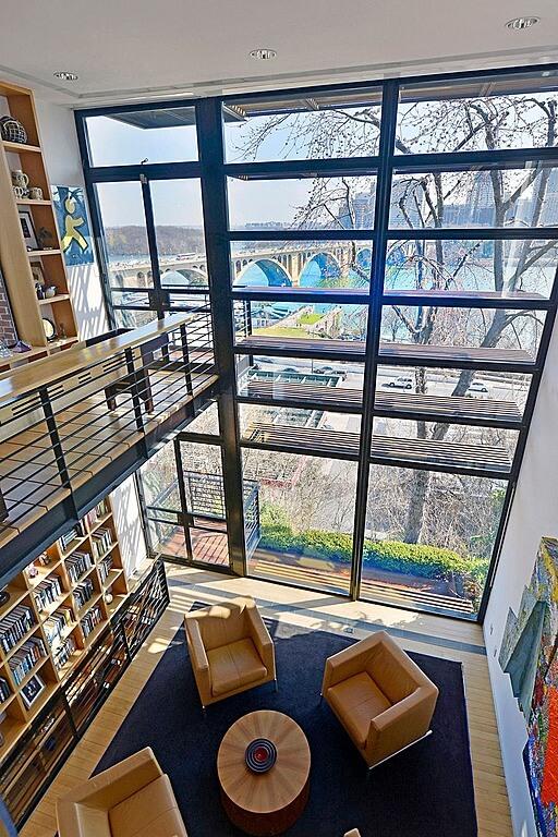 Home Library Loft: 54 Lofty Loft Room Designs