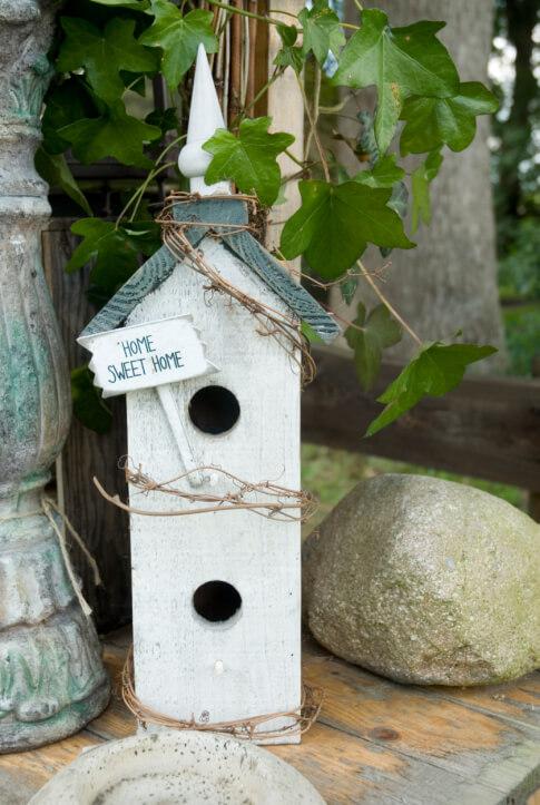 78 Decorative Painted Outdoor Wooden Bird Houses Photos