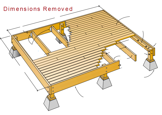 Are joe 39 s deck plans any good learn about it here with for Simple platform deck plans