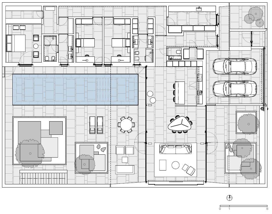 Поэтажный план.