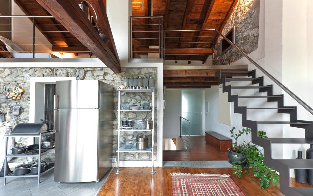 Open Foyer Loft : Lofty loft room designs