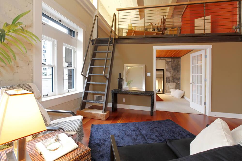 54 lofty loft room designs for Living room loft ideas