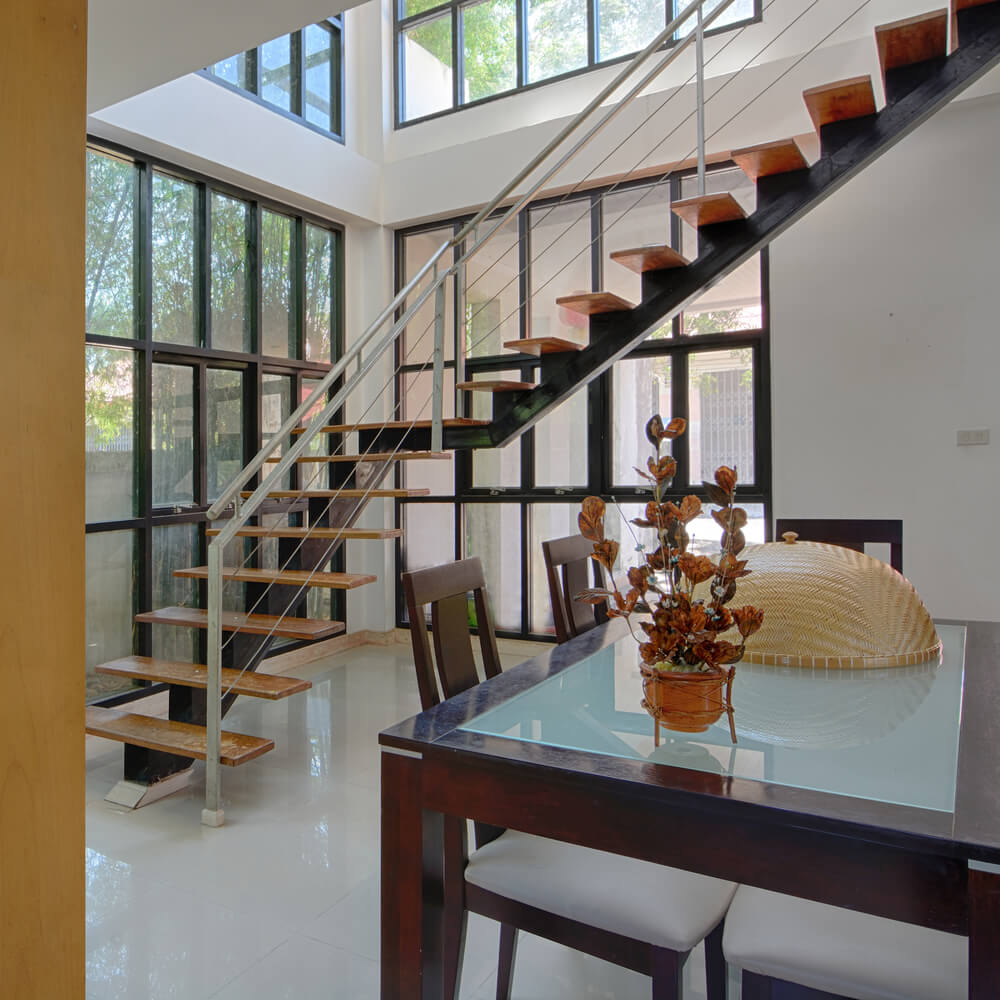 25 Stair Design Ideas For Your Home: 33 Flamboyant Modern Staircase Designs