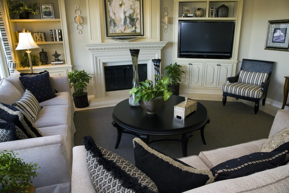 47 beautifully decorated living room designs for How to design your family room