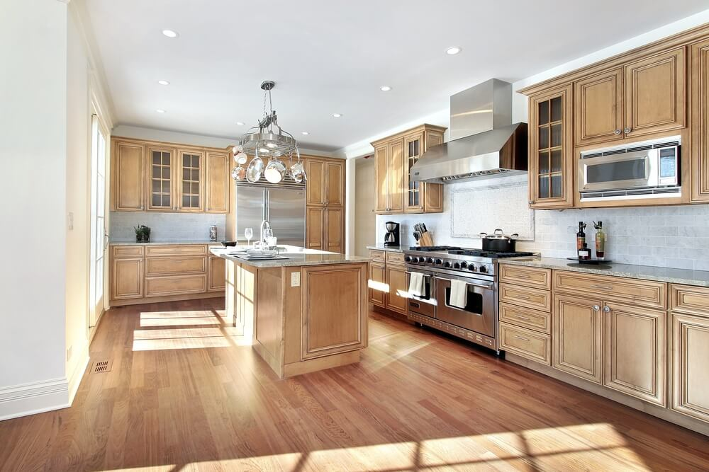 "Kitchen Design Ideas Light Cabinets 53 spacious ""new construction"" custom luxury kitchen designs"