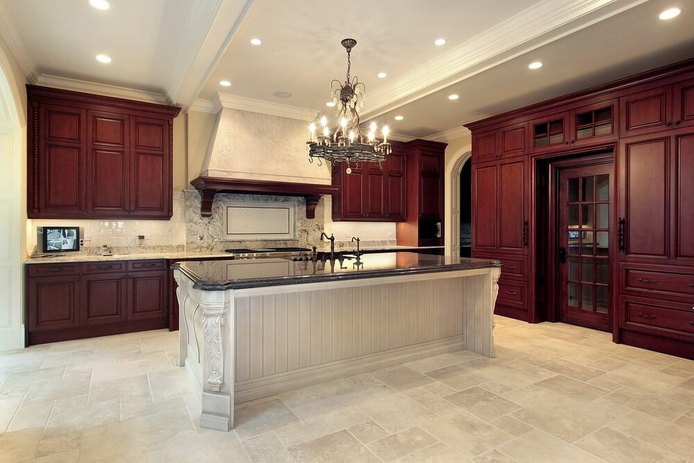 53 spacious new construction custom luxury kitchen designs for Luxury kitchen cabinets