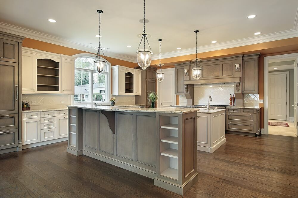 53 spacious new construction custom luxury kitchen designs - Luxury kitchen cabinets ...