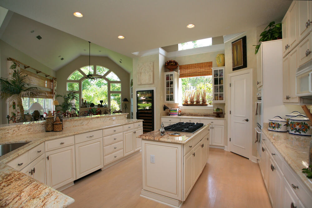 Revers View Of The Kitchen Above