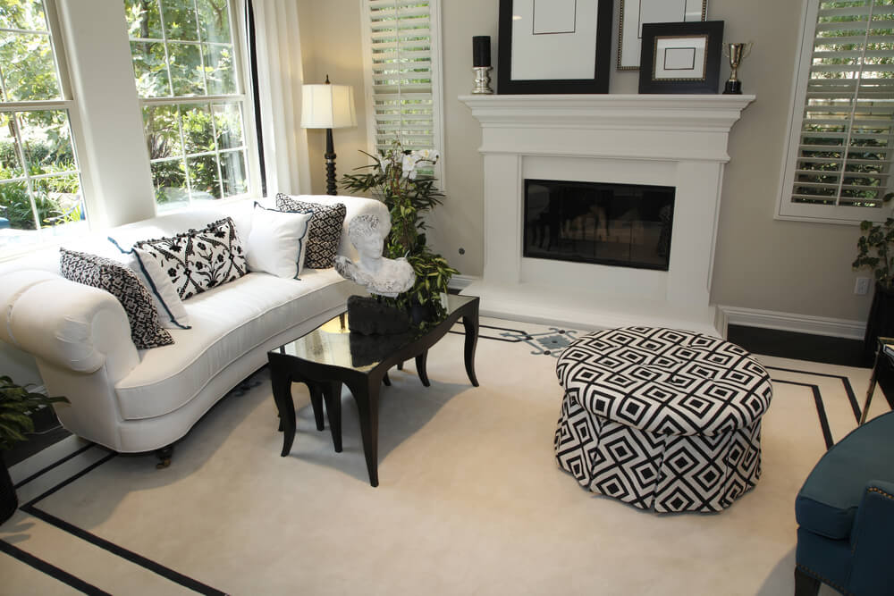 Square Ottoman Coffee Table Living Rooms