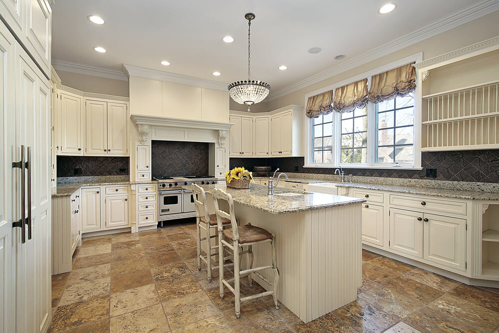 53 spacious new construction custom luxury kitchen designs for All white kitchen designs