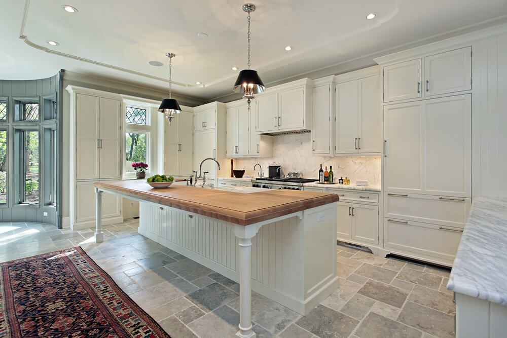 white kitchen cabinets travertine floor 36 quot brand new quot all white kitchen layouts amp designs photos 28954