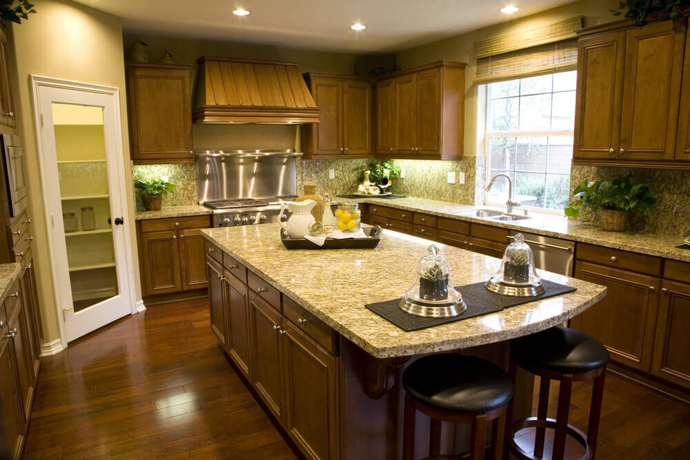 Eclectic mix of 42 custom kitchen designs for See kitchen designs
