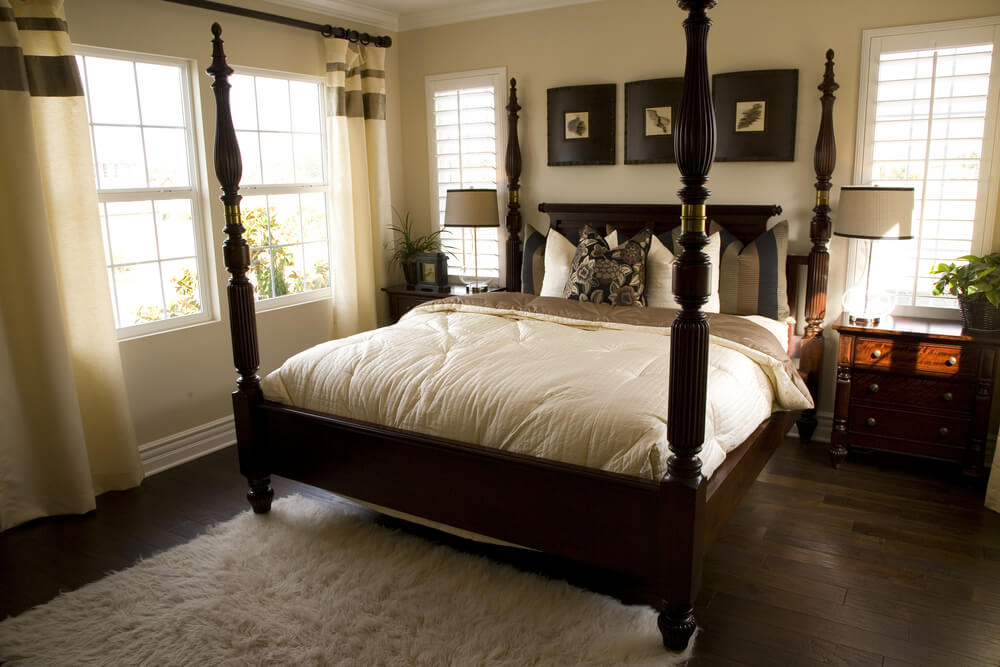 54 Richly Decorated Smaller Master Bedroom Designs