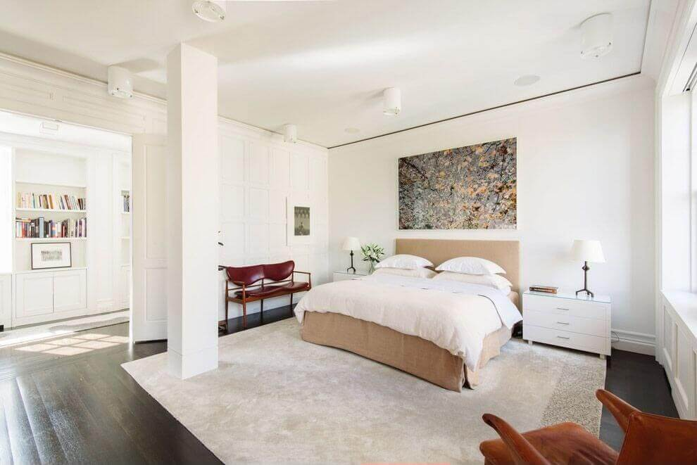 White And Wood Bedroom 61 bright & cheery white bedroom designs