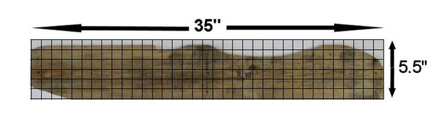 Mark the Chair's Rear Legs/Seat Stringers