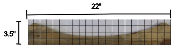 Measure/mark top backrest rail