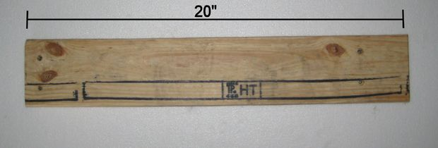 Measure and cut the front legs/front crosspiece/front seat slat