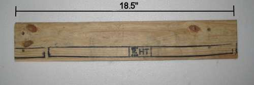 Cut the rear crosspiece.
