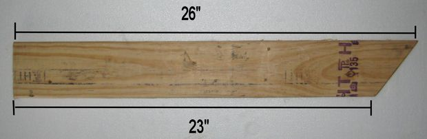 Measure and cut the rear back support