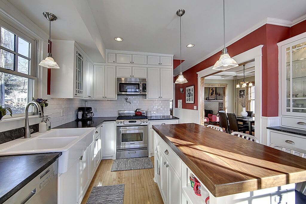 """Contemporary Kitchen With White Cabinets 36 custom """"bright & airy"""" contemporary kitchen designs"""