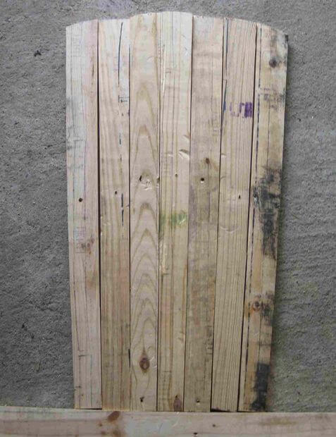 Cutting the fan tail: the result