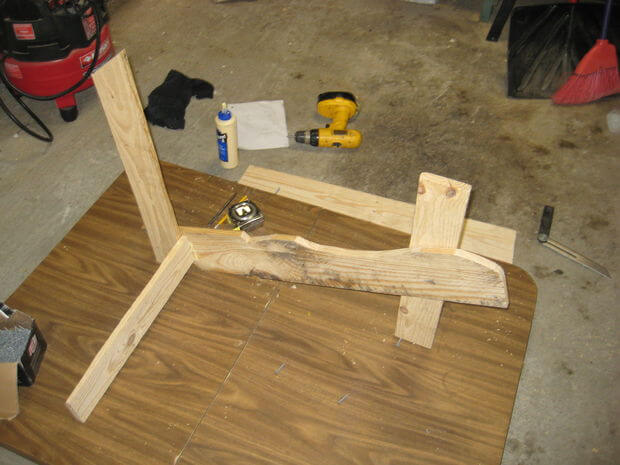 Connect rear crosspiece