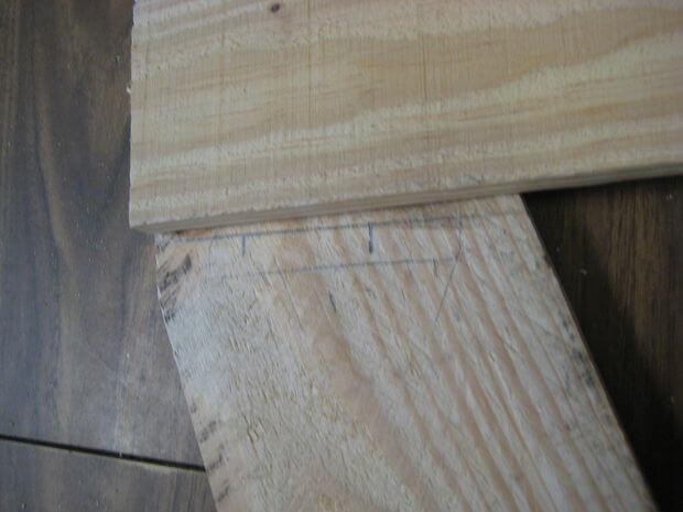 Connect rear crosspiece - close-up