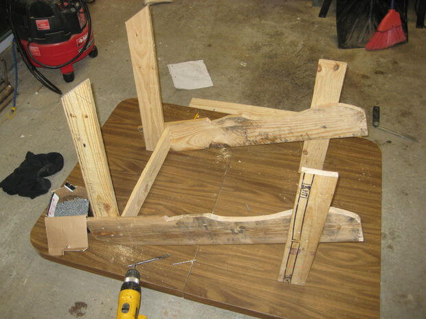 Connect rear crosspiece, part 2