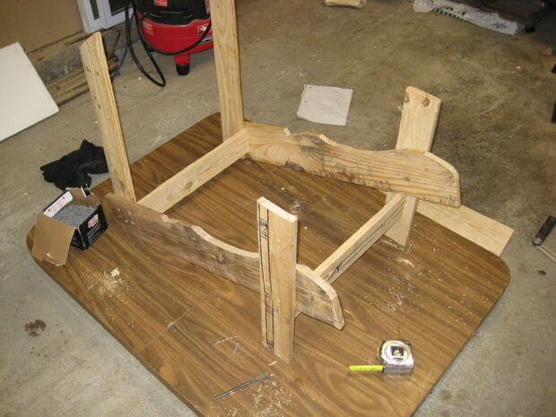 Connect front crosspiece