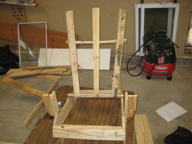 Attach the edge back pieces