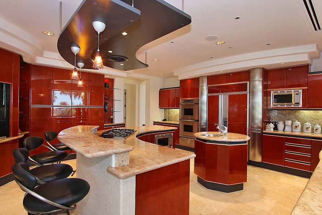 60 ultra modern custom kitchen designs part 1 for Kitchen design zillow
